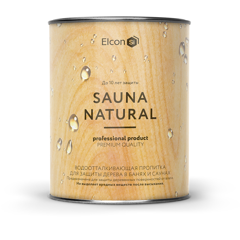 Пропитка для бани и сауны Elcon Sauna Natural
